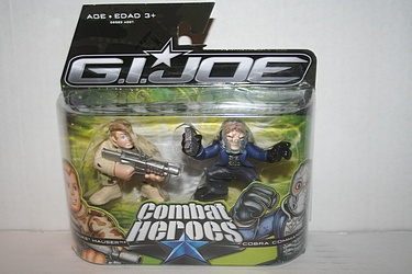 G.I. Joe: Rise of Cobra - Conrad 'Duke' Hauser vs. Cobra Commander
