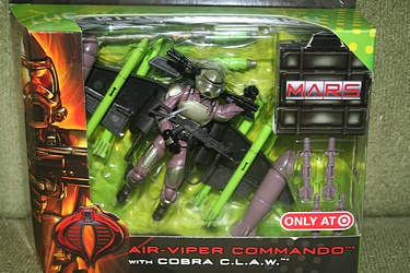 Air-Viper Commando with Cobra C.L.A.W.