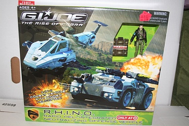 G.I. Joe: Rise of Cobra - RHINO Target Exclusive