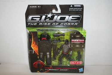 Target Exclusive Cobra Viper Commando with Serpent Armor