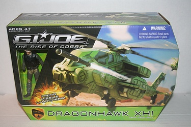 G.I. Joe - Rise of Cobra: Dragonhawk XH1 with Wild Bill