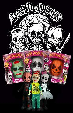 Mezco Toyz - Living Dead Dolls Retro Halloween Sets