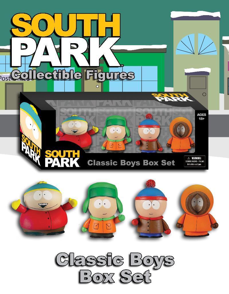 press release mezco toys south park box set parry game preserve. Black Bedroom Furniture Sets. Home Design Ideas