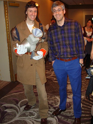 Filmation Ghostbusters Outfit with Mo Rocca