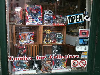 Transformers - Window Display