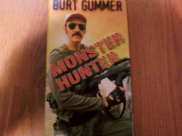 Tremors TV Prop - Burt Gummer Monster Hunter VHS