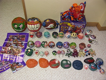 eBay Watch - AmToy Madballs Complete Set
