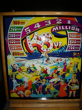 eBay Watch - Gottleib's Knock Out Pinball (1950)