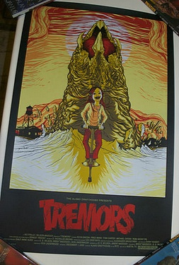 eBay Watch - Tremors MONDO poster by Alex Pardee