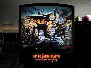 eBay Watch - Starship Troopers Pinball