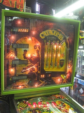 eBay Watch - Stern Catacomb Pinball (1981)
