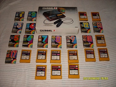 eBay Watch - Fairchild Channel F with all games!