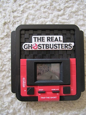 eBay Watch - The Real Ghostbusters Handheld by Remco
