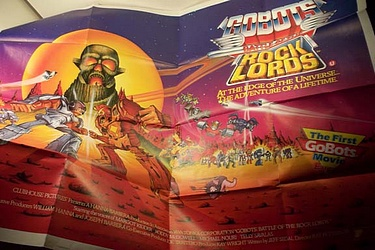eBay Watch - Gobots / Rocklords Euro Movie Poster