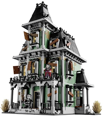 Lego Monster Fighters - Haunted House!
