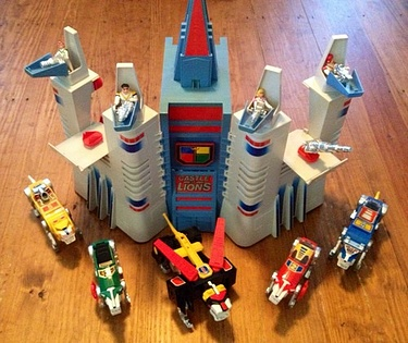 eBay Watch - Panosh Place Voltron Set