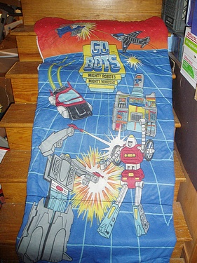 eBay Watch - Go Bots Sleeping Bag