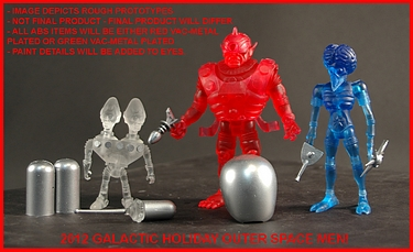 Press Release - 2012 Galactic Holiday Outer Space Men