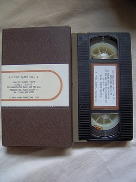 Picture Pages Promo VHS