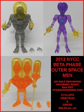 Press Release - BETA PHASE OUTER SPACE MEN UP FOR SALE AT STORE HORSEMEN
