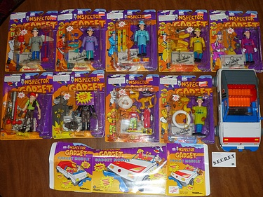eBay Watch - Inspector Gadget Lot