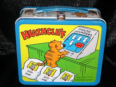 Heathcliff lunchbox