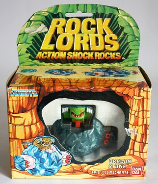 eBay Watch - Rock Lords Dragon Stone by Bandai
