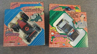 eBay Watch - Bandai Diecast Inspector Gadget Vehicles