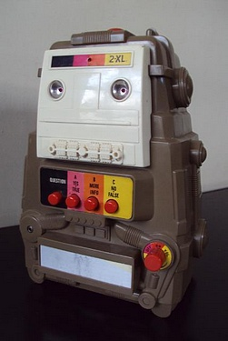 eBay Watch - Mego 2-XL Robot 8 Track Player