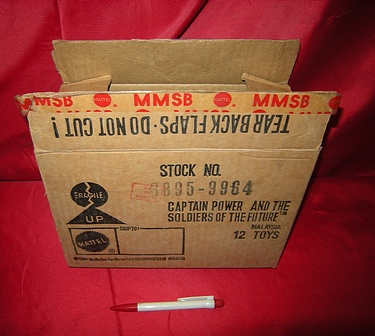 eBay Watch - Captain Power Shipping Box