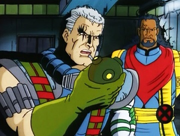 X-Men Animated - Cable and Bishop