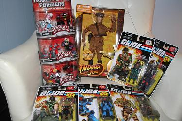 HasbroToyShop.com order - G.I. Joe Wave 10 and more