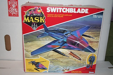 M.A.S.K. - Switchblade with Miles Mayhem