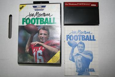 Sega Master System - Joe Montana Football