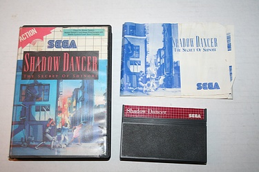 Sega Master System - Shadow Dancer