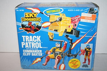 Sky Commanders: Track Patrol with Commander Cliff Baxter