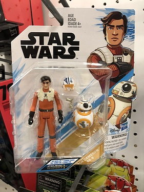 Poe Dameron with BB-8