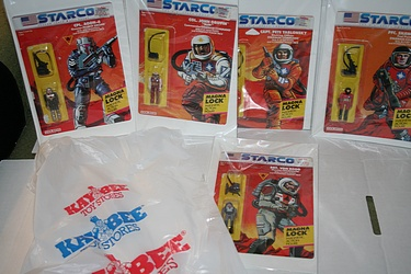 Starcom eBay Lot - in Kay-Bee Bag!
