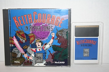 TurboGrafx 16 - Keith Courage in Alpha Zones