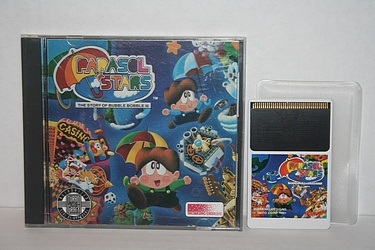 TurboGrafx16 - Parasol Stars - The Story of Bubble Bobble III