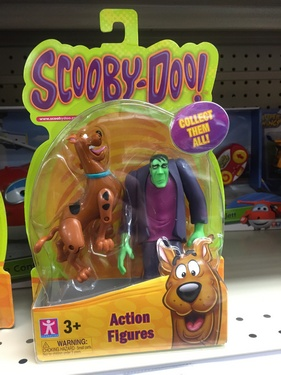 Character Options Ltd. - Scooby-Doo!: Frightface Scooby and Frankenstein's Monster