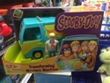 Character Options Ltd. - Scooby-Doo!: Transforming Mystery Machine