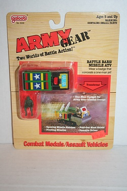Army Gear - Battle Bars / Missile ATV