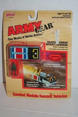 Army Gear - Bravery Ribbon  Rocket Launcher