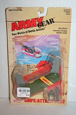 Army Gear - Knife / Attack Boat