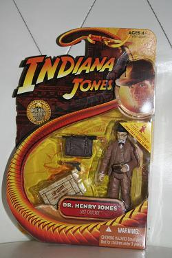 Indiana Jones figures - Dr. Henry Jones