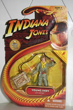 Indiana Jones figures - Young Indy