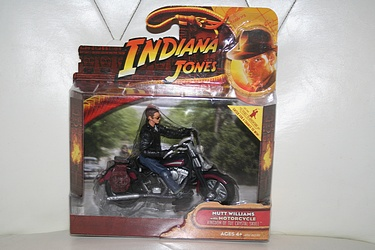 Indiana Jones - Deluxe Mutt with Motorcycle