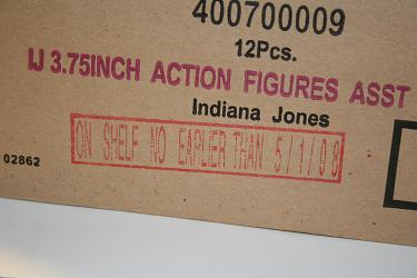 Indy shipping box date restriction stamp