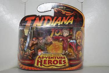 Indiana Jones Adventure Heroes - Indy and Willie Scott